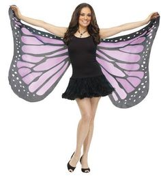 Fancy Me - Damen Große Weiche Feen Schmetterling Flügel Kostüm Outfit - Violett, Eine Größe Fancy Me http://www.amazon.de/dp/B00FRDYKM4/ref=cm_sw_r_pi_dp_nNgLvb0BP9V1D