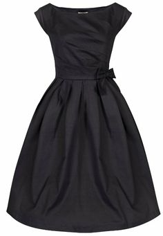 Amazon.com: Lindy Bop 'Lucille' Classy 50's Vintage Style Pleated Rock N Roll Party Dress: Clothing