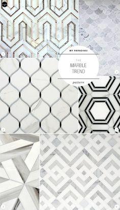 The Marble Trend   Pattern. #LivingRoomFurniture, #ModernHomeDécor, #MarbleDécorIdeas