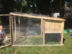 How to Build a Chicken Tractor Coop on a Shoestring Budget DIY Project | The Homestead Survival