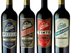 Canales & Co - La Posta Wines #packaging #design packaging design blog World Packaging Design Society│Home of Packaging Design│Branding│Brand Design│CPG Design│FMCG Design