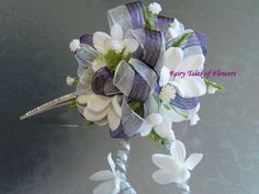 Flowers and BLING for your hair!!!!