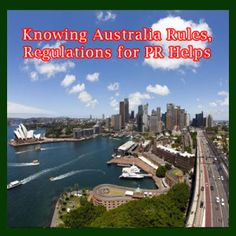 Knowing Australia rules, regulations for PR helps. At the time of presenting your visa submission, be ready to cough-up the required charges, and to duly complete every form using English language. You also ought to have the official reproductions of the needed formal certificates/papers. Further, you may submit a submission for a PR Permit in the wake of having resided for 2 years in a Specified Regional Area in Australia & worked for 1 year in the parallel domains.