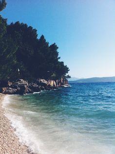 Croatia http://instagram.com/mosk | #croatia #beautiful #beach #makarska #photooftheday #nature #summer #vscocam