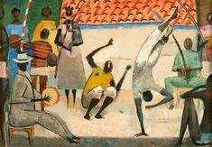 Capoeira,+de+Carybé++[Acervo+Pinacoteca+Carybé].jpg (720×499)