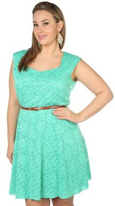 #Deb Shops                #Skirt                    #plus #size #capped #sleeve #over #lace #belted #circle #skirt #dress #debshops.com                     plus size capped sleeve all over lace belted circle skirt dress - debshops.com                                                    http://www.seapai.com/product.aspx?PID=1870077
