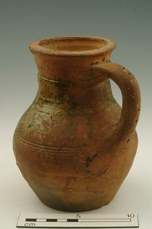 Jug Production Date: Late Medieval; mid 14th-mid 15th century