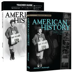 Homeschool, High School History, Biblical Worldview. Survey the history of America from native peoples, European settlements, nation-building, and expansion through the modern age. Actively build your student's strong biblical worldview learning the political and faith perspectives which have impacted its history and cultural changes over time.
