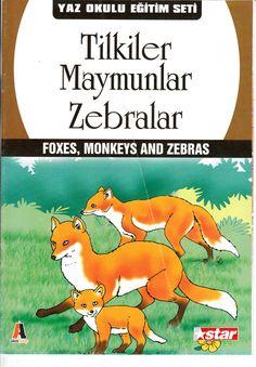 Tilkiler,maymunlar,zebralar Zebras, Monkey, Fox, Monkeys, Foxes, Dapple Grey Horses