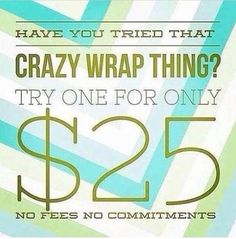 Contact me today to get this special offer! Message me at 3342822780 or email at sheilakaywrapstars@gmail.com