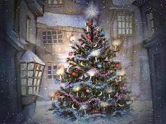 1 Hour Of Traditional Christmas Music With Beautiful Christmas Scenes - Reprise! Animated Christmas Tree, Christmas Scenes, Noel Christmas, Christmas Music, Vintage Christmas Cards, Christmas Images, Christmas Greetings, Christmas Lights, Christmas Screensavers