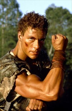 Jean-Claude Van Damme Cyborg Muscles Hunky Poster for Like the Jean-Claude Van Damme Cyborg Muscles Hunky Poster? Van Damme, Cyborg Movie, Martial Arts Movies, Martial Artists, Romantic Comedy Movies, Bionic Woman, Idole, Hollywood, Ex Machina
