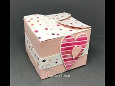(41) Adorable Lots to Love Valentine Box - YouTube