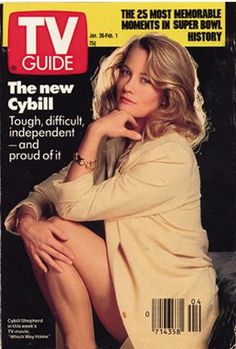 Magazine covers featuring Moonlighting and cast members, Bruce Willis, Cybill Shepherd, Allyce Beasley and Curtis Armstrong. Cybill Shepherd, Curtis Armstrong, The Heartbreak Kid, Memphis, Kathleen Turner, The Last Picture Show, Cover Model, Tv Guide, Celebrity Look
