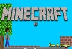 Juego Minecraft 2d Gratis