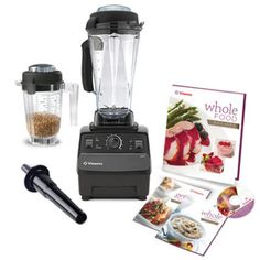 Vitamix 5200 Blenders are available in black, red and white. Featuring the VitaMix 5200 Blender Base Package, with the Vita Mix 5200 BPA Free New Eastman Tritan copolyester container and New Swedish-built 2 peak HP motor. Whole Food Recipes, Cooking Recipes, Healthy Recipes, Vitamix Recipes, Healthy Tips, Vitamix 5200 Blender, Vitamix 6300, Kitchen Blenders, Kitchen Essentials