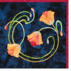Art Nouveau quilt block patterns. Aaaah, gorgeous!