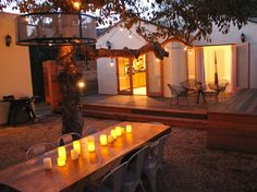 Venice Beach house rental - beautiful outdoor area for BBQ and dinners.