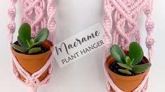 Indoor Plant Hangers, Indoor Plants, Wall Hanging Crafts, Pot Hanger, Flower Pots, Flowers, Beaded Lace, Planter Pots, The Creator
