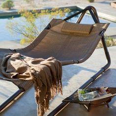 Balkony decor on pinterest hammocks trampolines and for Hammock for apartment balcony