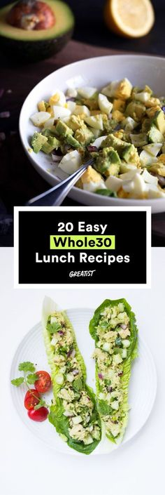 You'll look forward to these midday meals all morning. #whole30 #recipes http://greatist.com/eat/whole30-recipes-for-lunch