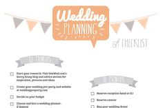 Make Wedding Planning Easy With These Free Timeline Checklists Planing Checklist From Sheknows