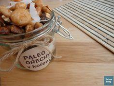 Ořechy v koření / paleo spicy nuts