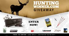 Help me win this awesome giveaway from @Hunting_Winner