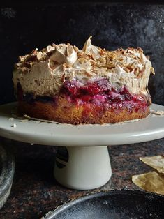 Louise Cake with Plum and Coconut Just Desserts, Delicious Desserts, Yummy Food, Baking Recipes, Cake Recipes, Dessert Recipes, Christmas Desserts, Christmas Baking, Ottolenghi Recipes