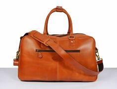 Gym Bag /Genuine Leather Travel Bag Weekend от DelphiLeatherIndia