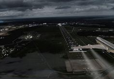 Wizualizacja lotniska Gdynia - Kosakowo (z archiwum Urzędu Miasta Gdyni)