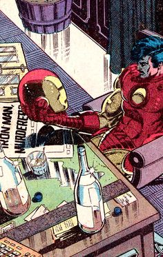Iron Man - Volume 1 - Issue - Art by John Romita Jr. Hq Marvel, Marvel Comic Universe, Marvel Comics Art, Bd Comics, Marvel Heroes, Avengers Comics, Comics Universe, Comic Books Art, Comic Art