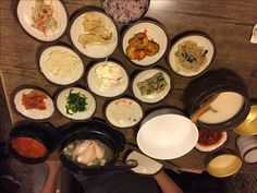 Traditional Korean Meal at Garuso-gil | Baby Z travelling around Seoul
