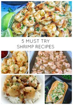 5 Must Try Shrimp Recipes