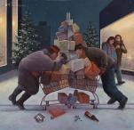 Marius van Dokkum   Kerst- en Wintertaferelen