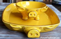 Love my new piggy dishes!
