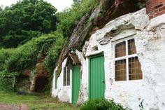 English trogoldytes - Britain's abandoned cave homes via messy nessy chic