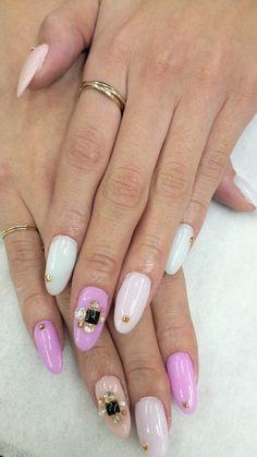 Pink Polley Pocket Nails...