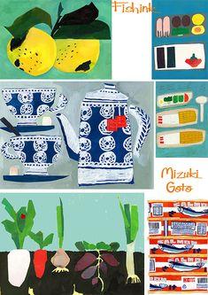 Mizuki Goto #collage