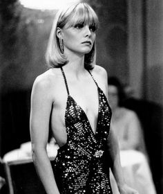 Michelle Pfeiffer in Scarface #disco #styleicon