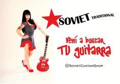 @sovietcustom #MelinaCardenes #SovietCustomShop #GuitarrasSoviet #SovietGuitar #CountryArgentina #PinUpArgentina
