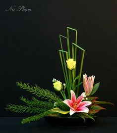 All Details You Need to Know About Home Decoration - Modern Contemporary Flower Arrangements, Tropical Flower Arrangements, Creative Flower Arrangements, Ikebana Flower Arrangement, Church Flower Arrangements, Ikebana Arrangements, Beautiful Flower Arrangements, Flower Centerpieces, Flower Decorations