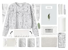 """Geen titel #137"" by elinemarialola ❤ liked on Polyvore featuring Byredo, INDIE HAIR, Kate Spade, Tweezerman, Mark's Tokyo Edge, Stila, NARS Cosmetics, Alexander Wang, Crate and Barrel and Monki"
