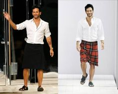 8 Wackiest Feminine Fashion Accessories for Men - Men's Skirts