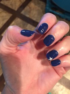 4th of July shellac polish