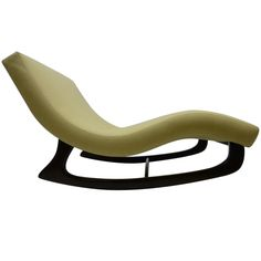 Sculptural Rocking Chaise Longue by Adrian Pearsall | From a unique collection of antique and modern chaises longues at http://www.1stdibs.com/furniture/seating/chaises-longues/