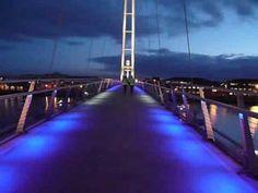 The Inifinity Bridge - http://www.differentdesign.it/2013/04/02/the-inifinity-bridge/