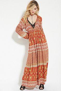 Raga Floral Print Maxi Dress   Forever 21 - 2000187254