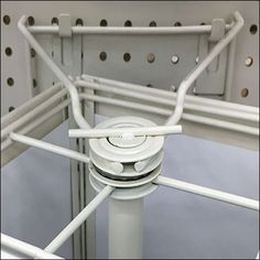 This Pin-Up Hook Pegboard Anchor For Spinners is a logical, economical, and easy-to-implement solution. The quick positioning of 2 Pin-Up Hooks allows the hanging of small footprint spinners anywhere for Endcap or Inline use. Supermarket Design, Clothes Hanger, Anchor, Hooks, Pin Up, Retail, Coat Hanger, Clothes Hangers, Anchor Bolt