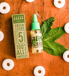 Green Lizard - Love Wintergreen candies? Then this is for you!   Click the image to purchase! http://www.lizardjuice.com/green-lizard-e-liquid  #eliquid #ejuice #ecig #vape